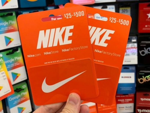 5 Features of Nike Gift Card you should know