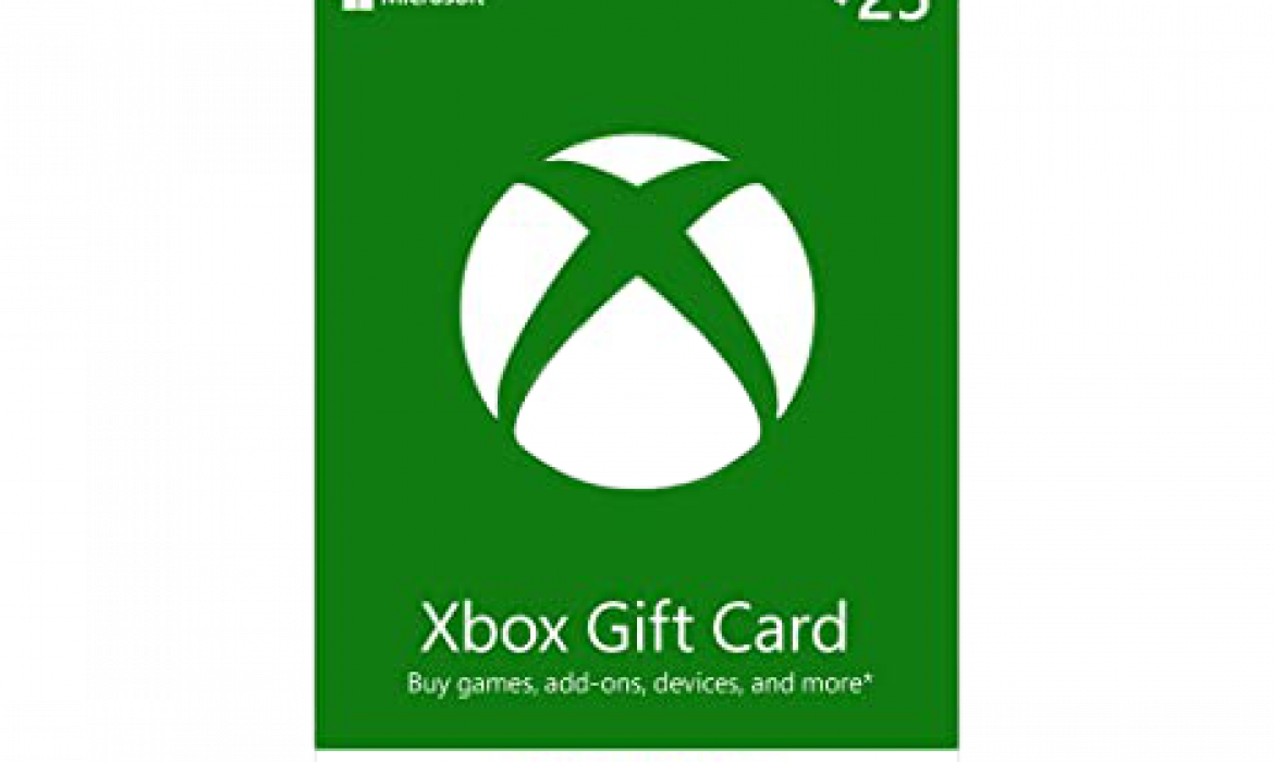 How to redeem Xbox gift cards